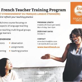 Montreal CEFLE French Teacher Training Program