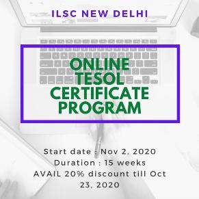 New Delhi Online TESOL Certificate Program