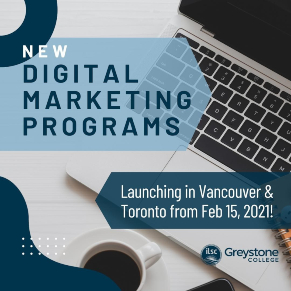 greystone-college-new-digital-marketing-programs-launching-vancouver-toronto-canada