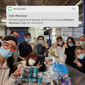 ilsc-montreal-csr-volunteer-food-bank