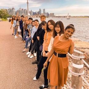 ilsc-toronto-students-activity-toronto-island-park