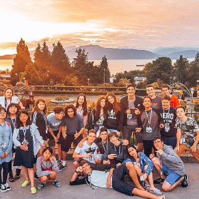 ilsc-vancouver-students-activity-vancouver-sunset-scene