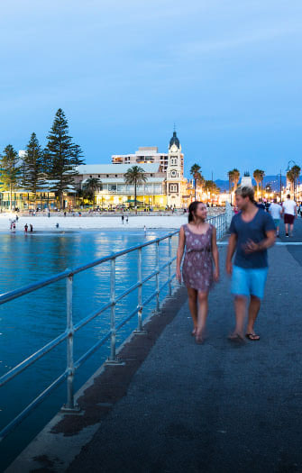 Glenelg Beach & Jetty Road