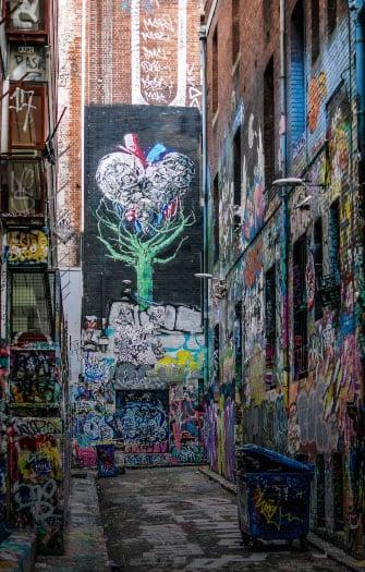 Laneway Street Art