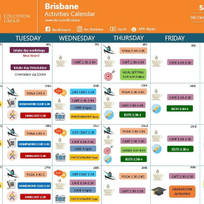 Activities calendar session11 2020