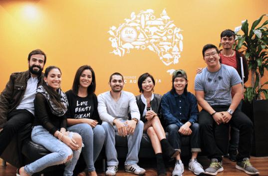 ILSC students learn English in Australia